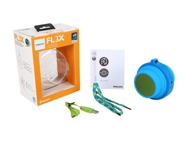 Parlante Flexible Philips BT2000 Azul