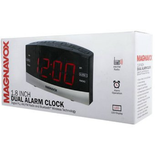 Radio Reloj FM Magnavox MR41805DV Black