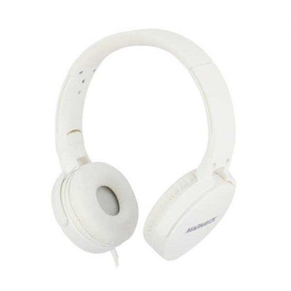 Audifono Dj Cable Magnavox MHP5026 Blanco