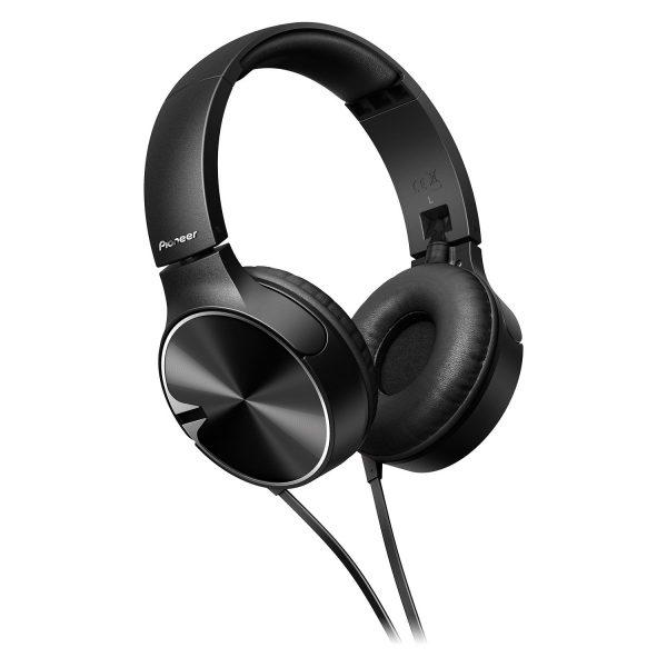 Audifono Dj Cable Pioneer SEMJ722T Black