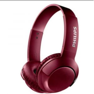 Audifono Dj Bluetooth Philips SHB3075 Rojo