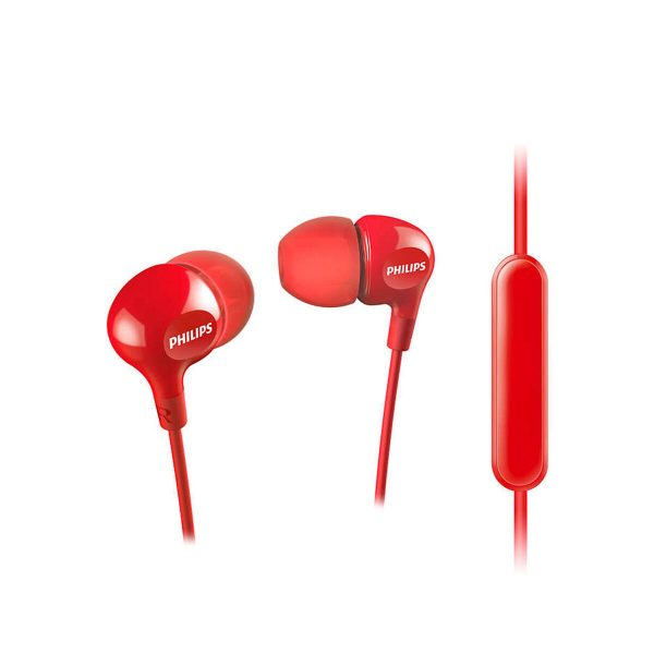 Audifono In Ear Philips SHE3555 Rojo