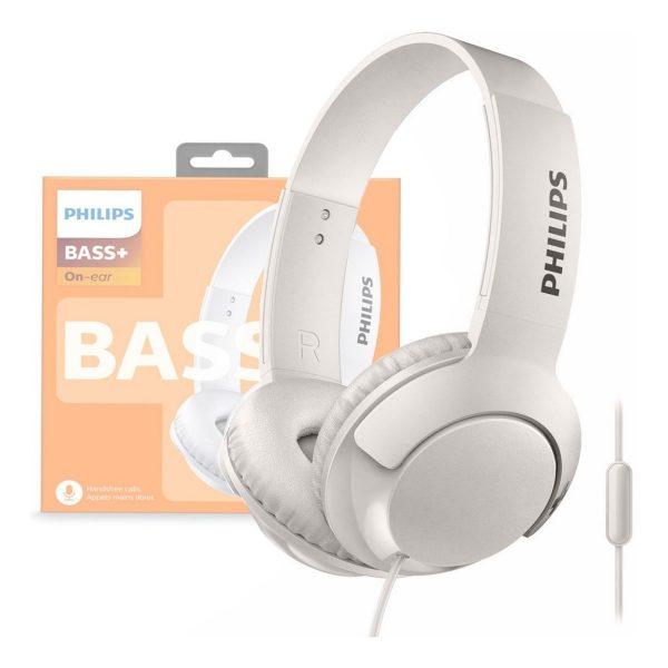 Audifono Dj Cable Philips SHL3075 Blanco
