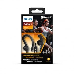 Audifono Deportivo Bluetooth Philips SHQ7800 Black